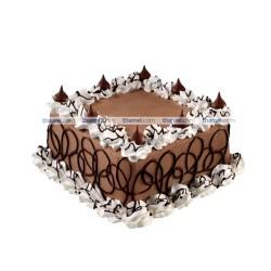 Chocolate Cream Cake- 2 lbs.