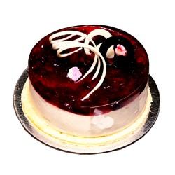 Crème cheese strawberry chocolate cake -1 lb.