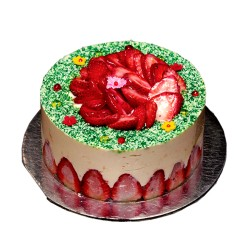 Cake Fraisier- 1 lb.