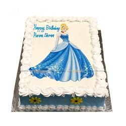 Disney Princess  Photo Printed Cake - 2 lbs.