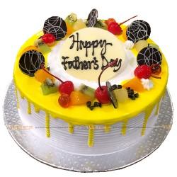 Vanilla Fruit Topping Cake -2lbs.
