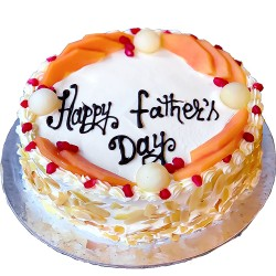 Father's Day Special Mixed Fruit Sugar free Cake -2 lbs.