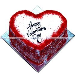 Red Velvet Heart Cake - 2 lbs.