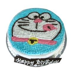 Doraemon Black Forest Cake- 2 lbs