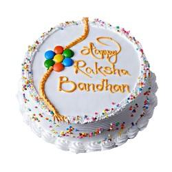 Rakshya Bandhan Special Pineapple Gems Cake - 2 lbs