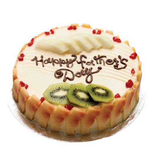 Fresh Fruit Sugar free Cake - 2 lbs.