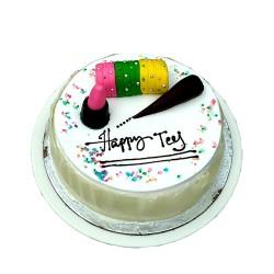 Teej Special White Forest Cake