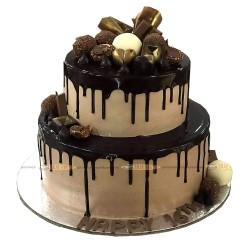 Double Decker Chocolate Cake - 5 lbs