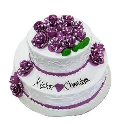 Fondant Wedding Special Cake