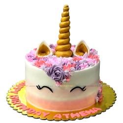 Unicorn Theme Cake - 2lbs.