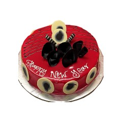 New Year Special  White Forest Cake - 2 lbs