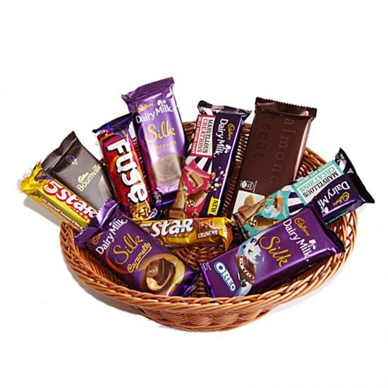 Cadbury Chocolate Hamper Basket -500gm