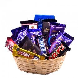 Yummy Chocolate Basket -900g