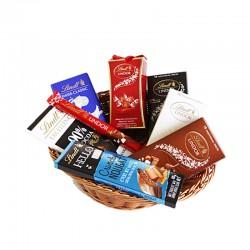 Lindt Chocolate Paradise Gift Basket - 600gm