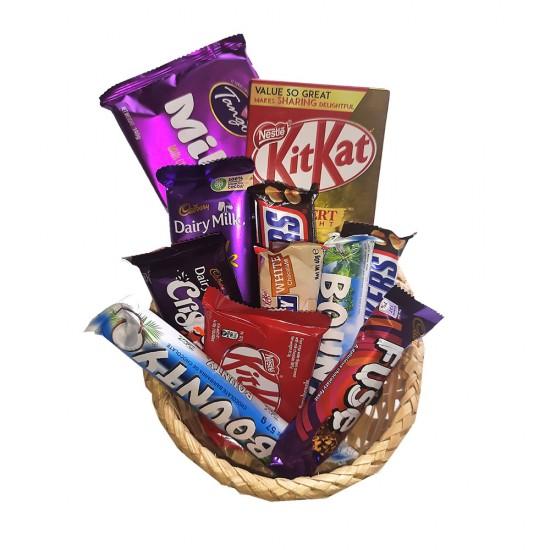 Chocolates Gift Basket -650g