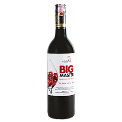 Big Master Sweet Red Wine - 750 ml
