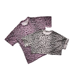 Cheetah Print Oversized T-shirt
