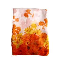 Floral Japanese Chiffon Saree