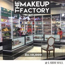 Gift Voucher of Rs.10,000 by The Make-Up Factory