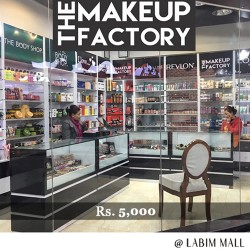 Gift Voucher of Rs.5,000 by The Make-Up Factory