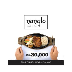 Gift Certificateof Rs.20,000 by Nanglo Café and Pub