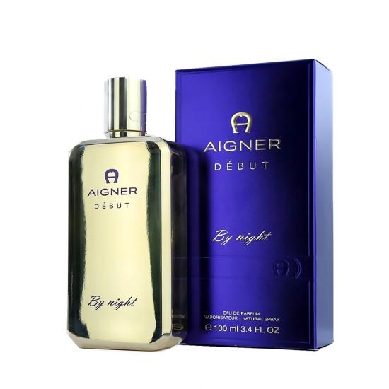 Aigner Night Debut EDT - 100 ml for Women