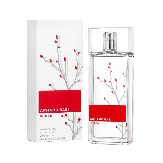 In Red Armand Basi EDP -100 ml For Women