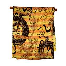Eternal Dragon Printed Pashmina Stole