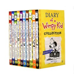Diary of Wimpy Kid- 5 Books