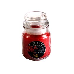 Wild berry Scented Jar Candle