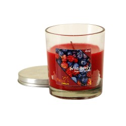 Wild berry Jar Candle