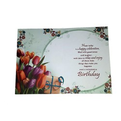 Wishing you a  Wonderful Birthday with Warm Greetings.