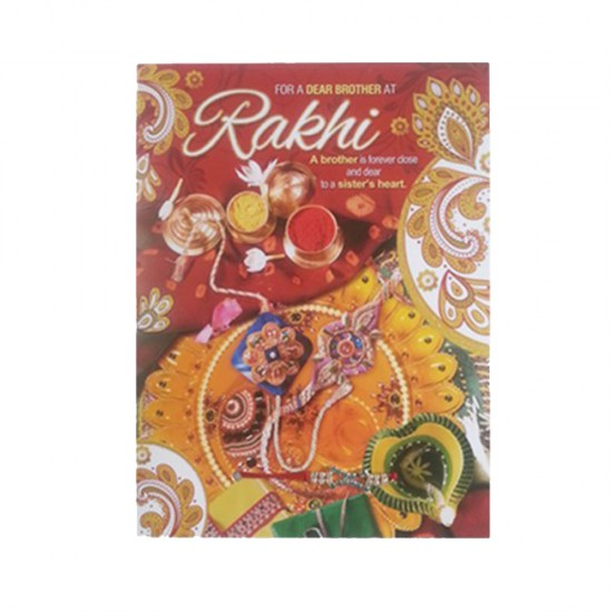 FOR A DEAR BROTHER AT Rakhi