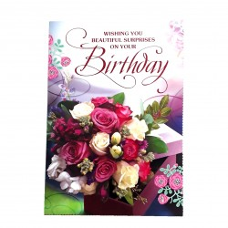 Wishing you Beautiful Surprises on your Birthday