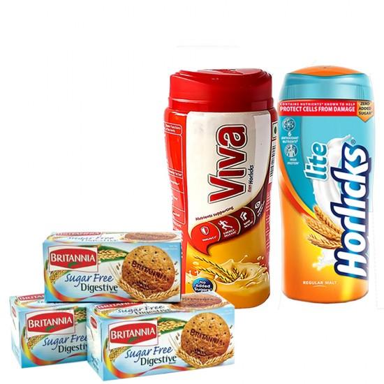 Sugarfree Nutritional Combo- 5 items