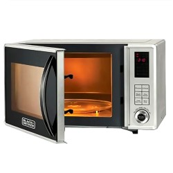 Black and Decker 23 Litre Microwave Oven with Grill
