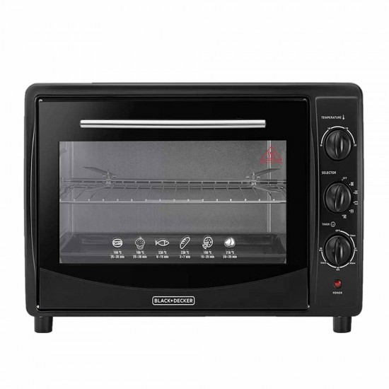 Black and Decker 45L Double Glass Toaster Oven