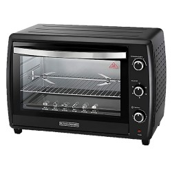 Black and Decker 35L Double Glass Toaster Oven