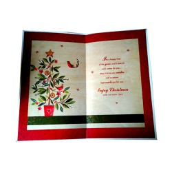 It is Christmas time  Card