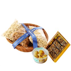 1.2 kg Dry Fruits Mix with Sugarfee  Mithai
