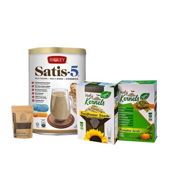 Healthy Supplements Assortment
