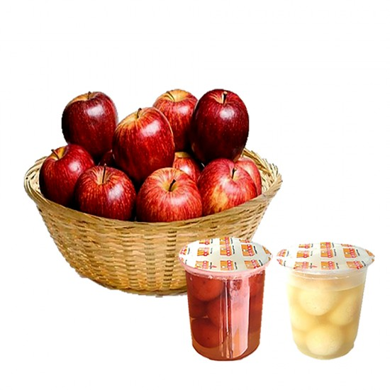 2 kg Apple Basket with Sweets