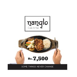 Gift Certificate of Rs.7,500 by Nanglo Café and Pub