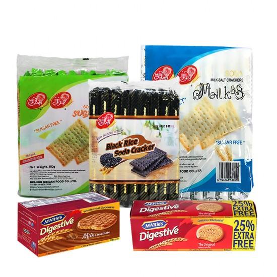 Crackers, Cookies & Biscuits 5 items