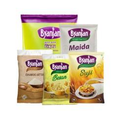 Byanjan Groceries Bundle Nett 9.3 kg