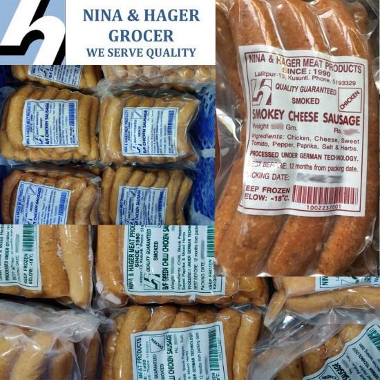 Nina & Hager Chicken Sausage Combo