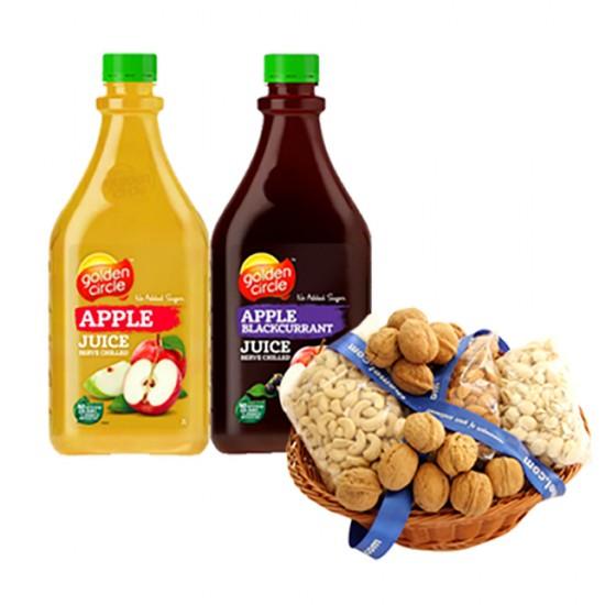 2 kg Dry Fruits Basket with Sugarfee  Juice