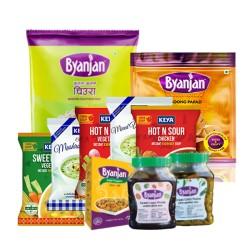 Byanjan Khaja Set- 10 items