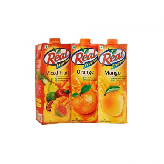 Real Juice Pack (3 x 1 Litre)
