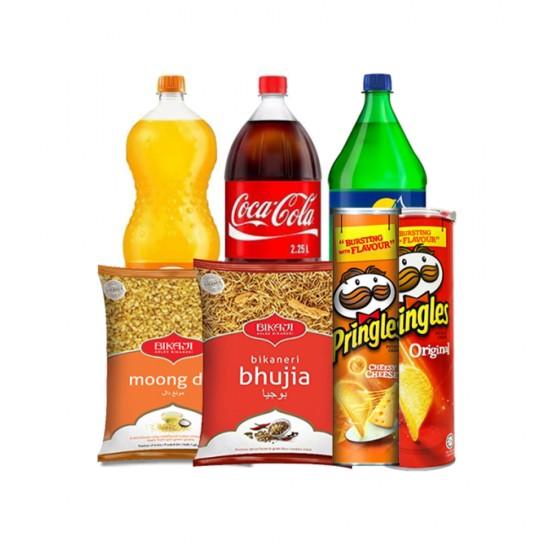 Soft drinks+ Snacks Assortment
